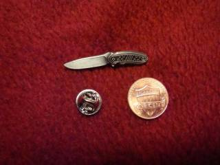 Buck Punk Lapel/Hat Pin