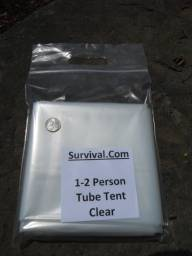 Clear 2 Person Tube Tent