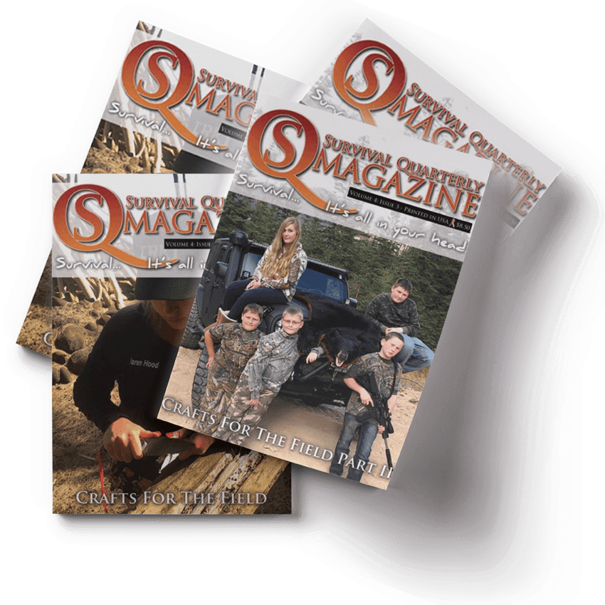 Survival Quarterly Magazine Gift Sets