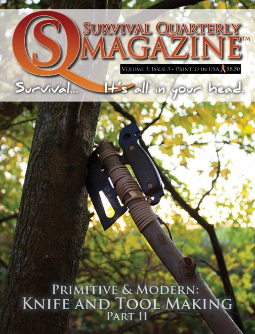 SQ Issue #11:  Modern & Primitive Knife & Tools Part 2