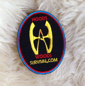 Hoods Woods Embroidered Patch