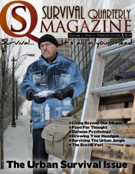 Back Issue #4:  Urban Survival