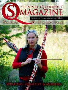 SQ Issue #7  Weapons: Primitive and Modern